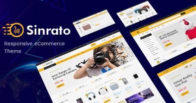 Sinrato - Electronics Theme for WooCommerce WordPress 3