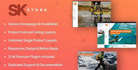 SK Store - Responsive WP theme for Sport and Athletes 23