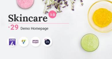 Skincare - Cosmetics Shop WooCommerce WordPress Theme 3