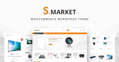 Smarket -  Electronics & Marketplace Multipurpose WooCommerce Theme 3