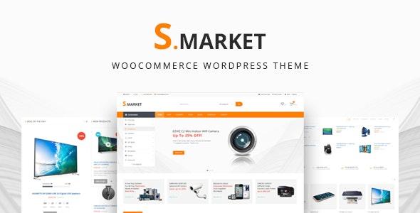 Smarket - Electronics & Marketplace Multipurpose WooCommerce Theme 1