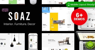 Soaz - Furniture Store WordPress WooCommerce Theme (Mobile Layout Ready) 4
