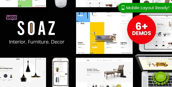 Soaz - Furniture Store WordPress WooCommerce Theme (Mobile Layout Ready) 1