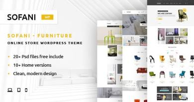 Sofani - Furniture Store WooCommerce WordPress Theme 3