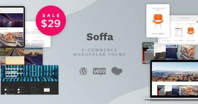 Soffa - Furniture & Business WordPress Theme 4
