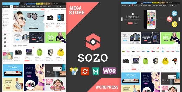 SOZO - Full Screen Mega Shop Theme 25
