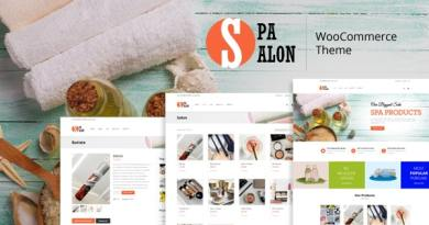 SPASALON - WooCommerce WordPress Theme 4