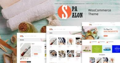 SPASALON - WooCommerce WordPress Theme 11