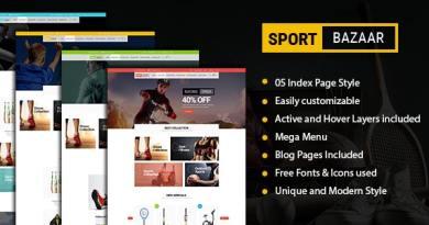 Sport Bazzar - Sports, Fitness and Gym Responsive WooCommerce WordPress Theme 52