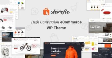 Storefie - High Conversion eCommerce WordPress Theme 3