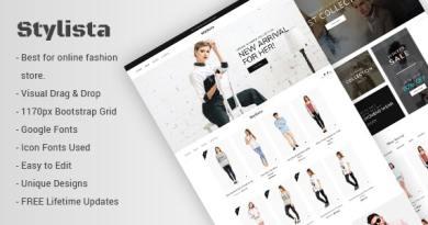 Stylista - Responsive Fashion WooCommerce WordPress Theme 3