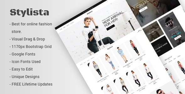 Stylista - Responsive Fashion WooCommerce WordPress Theme 1