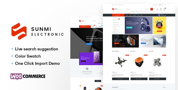 Sumi - Electronics WordPress Theme for WooCommerce (RTL supported) 11