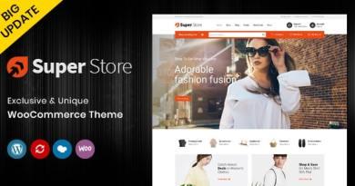 Super Store - Multipurpose WooCommerce Theme 3