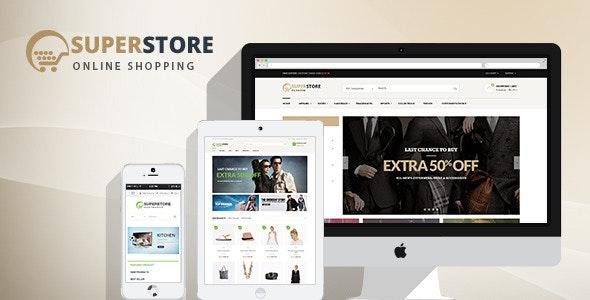 SuperStore - Woocommerce WordPress Theme 1