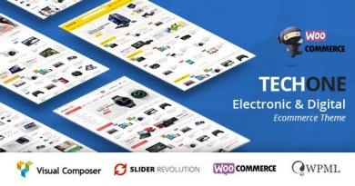 TechOne - Multipurpose WooCommerce Theme ( RTL Supported ) 2
