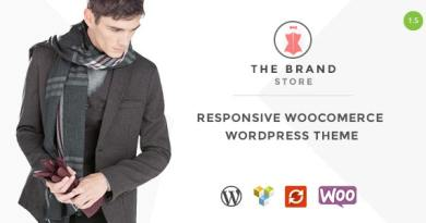 The Brand - Responsive WooCommerce WordPress Theme 4