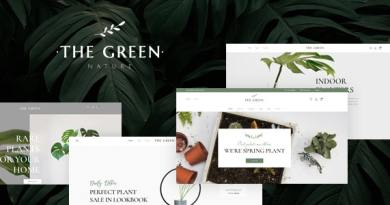 The Green - Houseplants & Gardening WordPress Theme 3