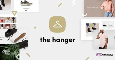The Hanger - eCommerce WordPress Theme for WooCommerce 3