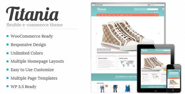 Titania - Flexible eCommerce Shop Theme 2