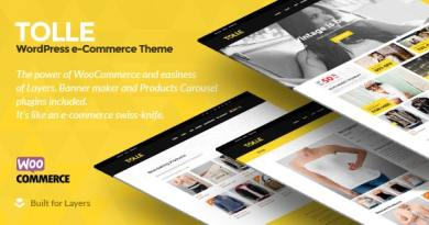 Tolle - Layers eCommerce Theme 54