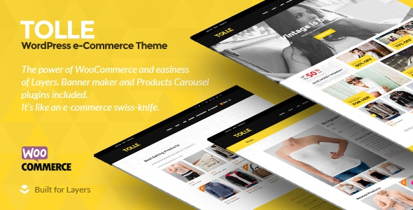 Tolle - Layers eCommerce Theme 1