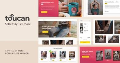 Toucan - WooCommerce theme for WordPress shop 3