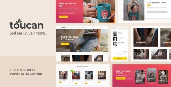 Toucan - WooCommerce theme for WordPress shop 1