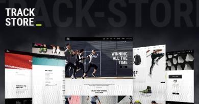 TrackStore - Sport Shop 4