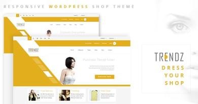 Trendz - WooCommerce Shopping WordPress Theme 2