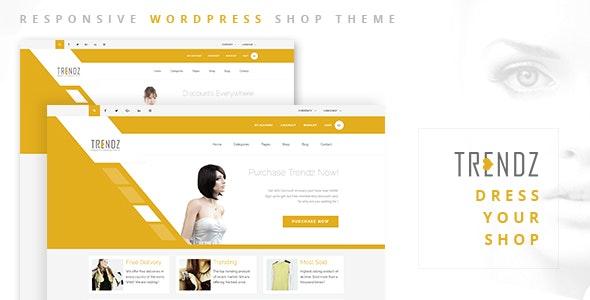 Trendz - WooCommerce Shopping WordPress Theme 16