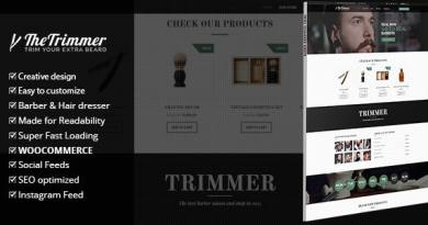Trimmer - WordPress Theme for Barber Shops 3