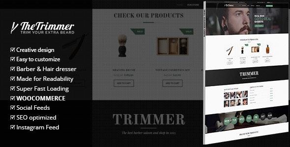 Trimmer - WordPress Theme for Barber Shops 2