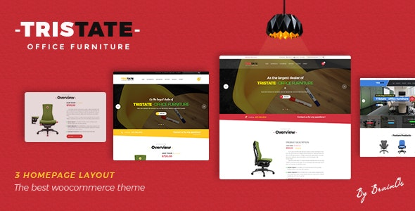 Tristate - Office Furniture WooCommerce WordPress Theme 1