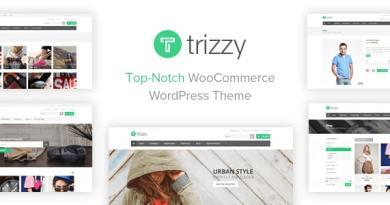 Trizzy - Multi-Purpose WooCommerce WordPress Theme 2