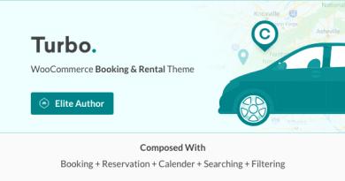 Turbo - WooCommerce Rental & Booking Theme 4