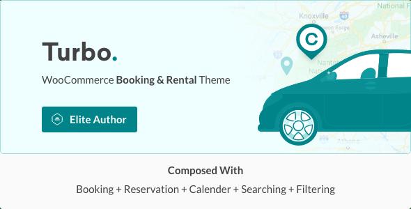 Turbo - WooCommerce Rental & Booking Theme 2