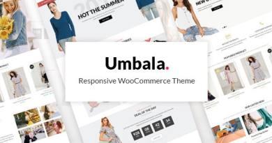 Umbala - Fashion & Clothing Store WooCommerce Theme 4