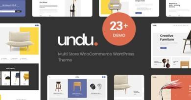 Undu - Responsive Furniture & Fashion WooCommerce WordPress Theme 4