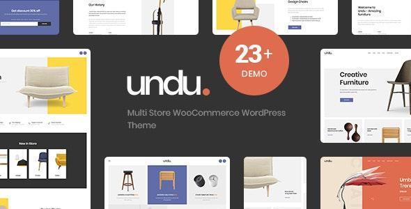 Undu - Responsive Furniture & Fashion WooCommerce WordPress Theme 1