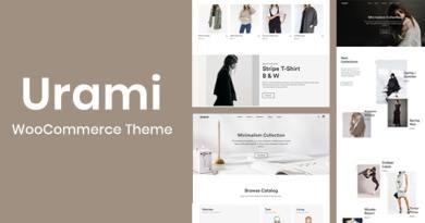 Urami WP - Modern minimalist WooCommerce theme 2