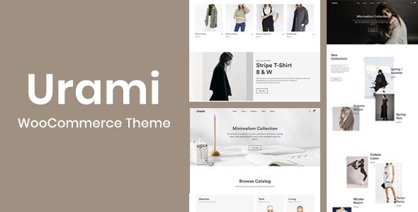 Urami WP - Modern minimalist WooCommerce theme 1