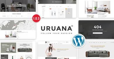 Uruana - Multi Store Responsive WordPress Theme 3