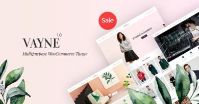 Vayne - Multipurpose WooCommerce Theme 16