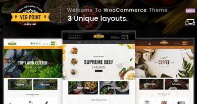 Veg Point - Multipurpose WooCommerce Theme 3