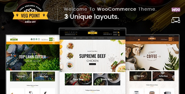 Veg Point - Multipurpose WooCommerce Theme 4