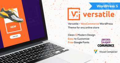 Versatile - Multipurpose WooCommerce WordPress Theme 14