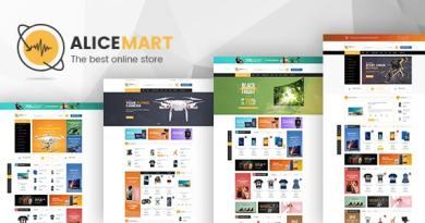 VG Alice - Multipurpose Responsive eCommerce Theme 3