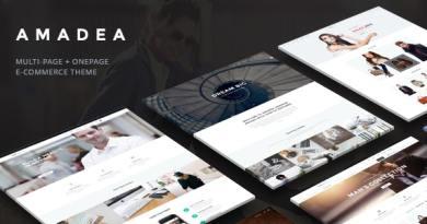 VG Amadea - Multipurpose WordPress Theme 2