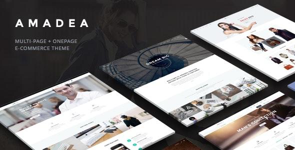 VG Amadea - Multipurpose WordPress Theme 7